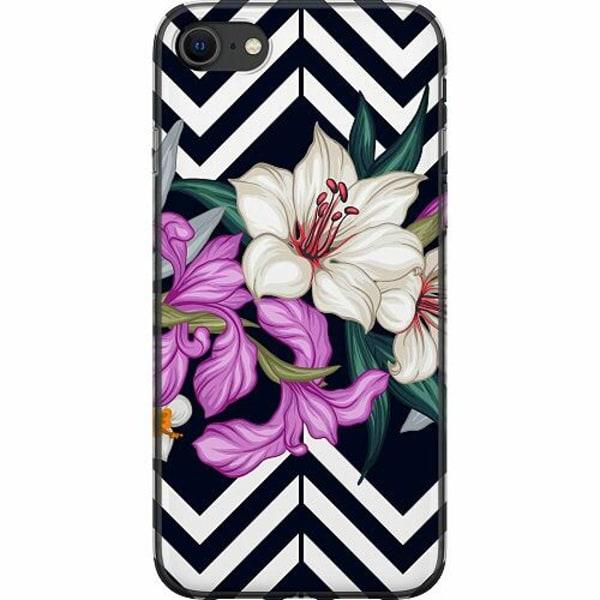 Apple iPhone SE (2020) Mjukt skal - Blommor