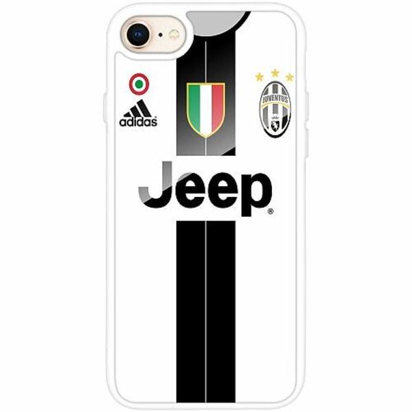 Apple iPhone 7 Vitt Mobilskal med Glas Juventus Football