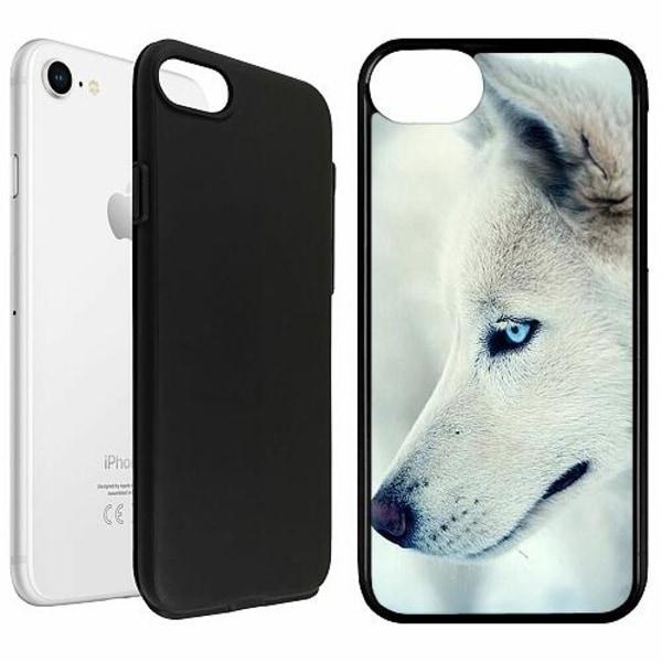 Apple iPhone SE (2020) Duo Case Svart Wolf / Varg