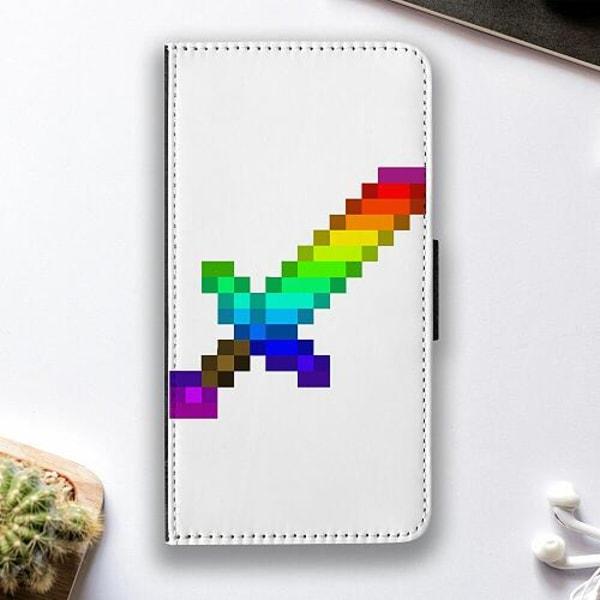 Apple iPhone 12 mini Fodralskal MineCraft Rainbow