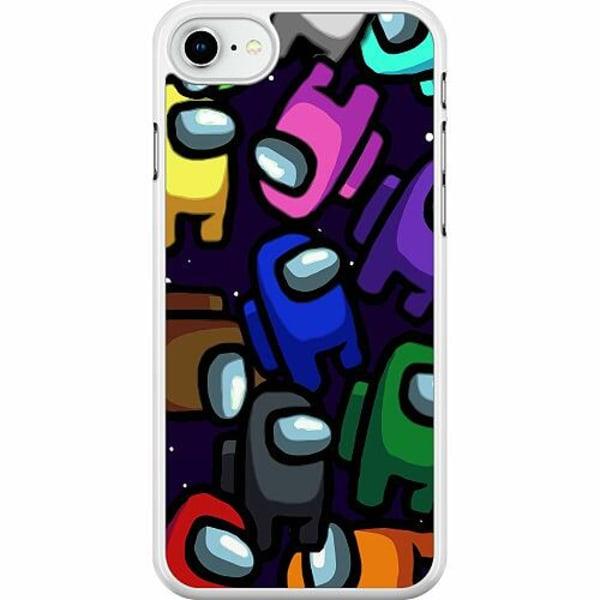 Apple iPhone SE (2020) Hard Case (Vit) Among Us