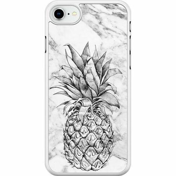 Apple iPhone SE (2020) Hard Case (Vit) Ananas