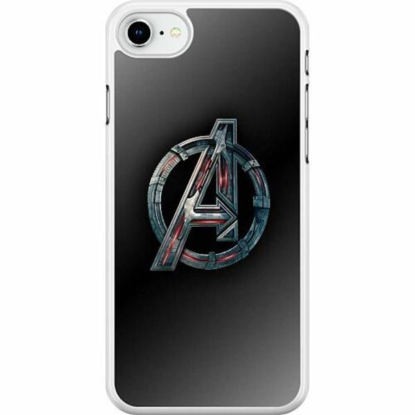 Apple iPhone SE (2020) Hard Case (Vit) Avengers