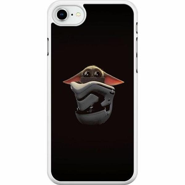 Apple iPhone SE (2020) Hard Case (Vit) Baby Yoda