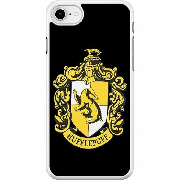 Apple iPhone SE (2020) Hard Case (Vit) Harry Potter - Hufflepuff