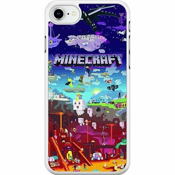 Apple iPhone SE (2020) Hard Case (Vit) MineCraft