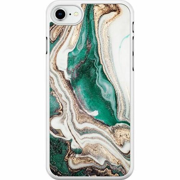 Apple iPhone SE (2020) Hard Case (Vit) Mönster
