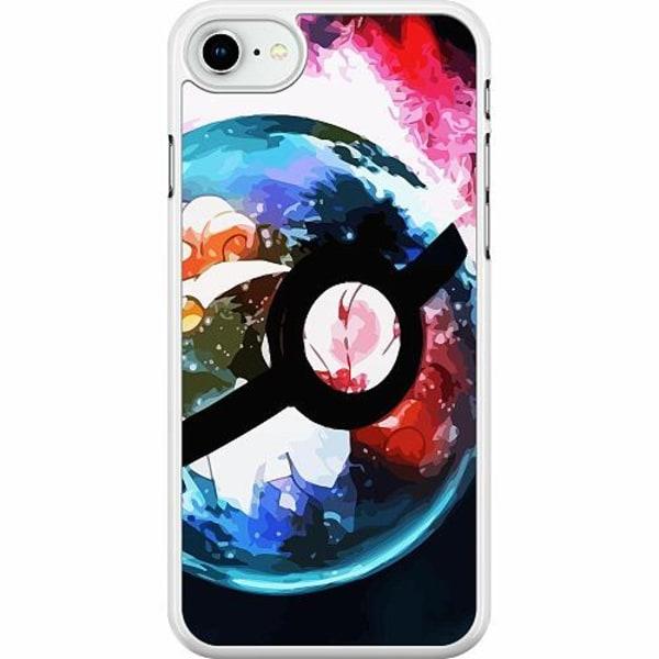 Apple iPhone SE (2020) Hard Case (Vit) Pokemon