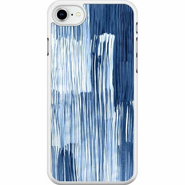 Apple iPhone SE (2020) Hard Case (Vit) Rain On Windowsill