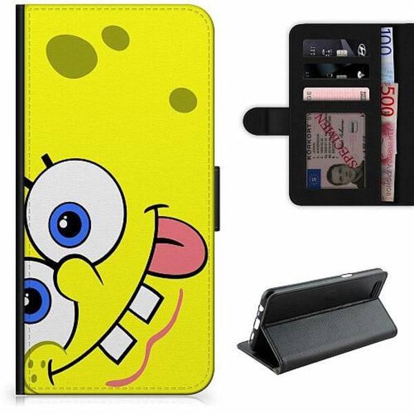 OnePlus 7 Lyxigt Fodral SpongeBob Fyrkant