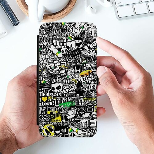 Apple iPhone 6 / 6S Slimmat Fodral Stickers
