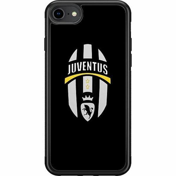 Apple iPhone 7 Soft Case (Svart) Juventus FC