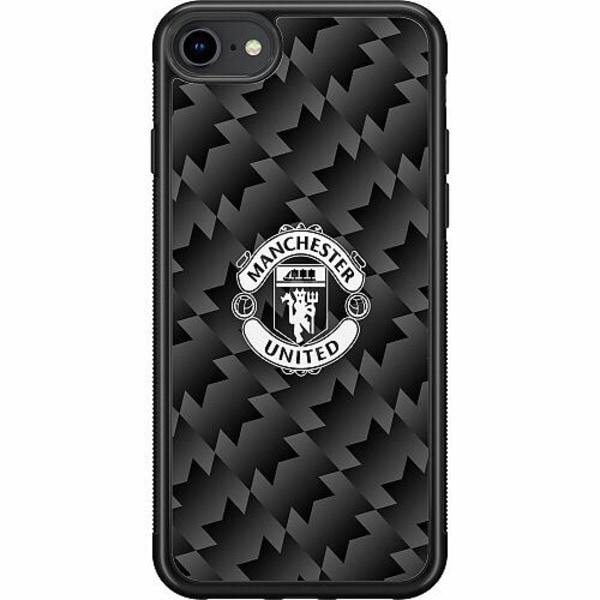 Apple iPhone SE (2020) Soft Case (Svart) Manchester United FC