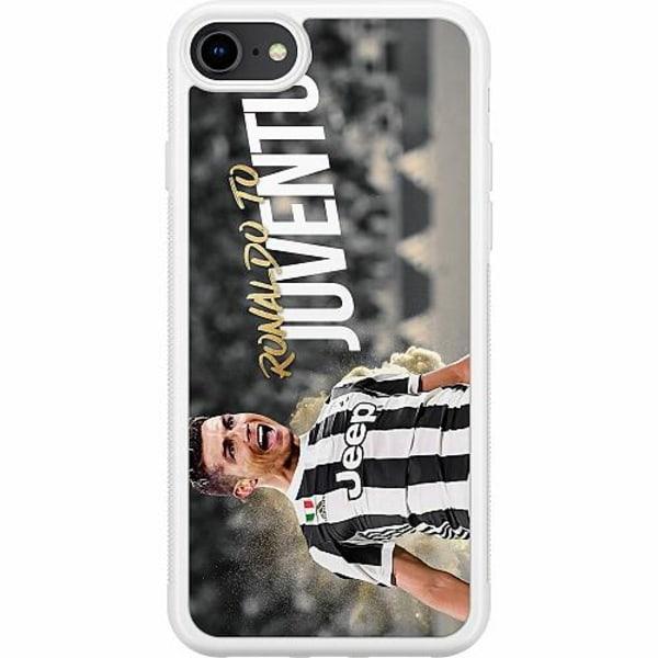 Apple iPhone 8 Soft Case (Vit) Ronaldo