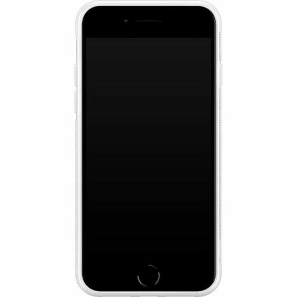 Apple iPhone 8 Soft Case (Vit) Cat Called