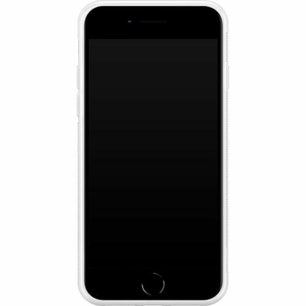 Apple iPhone 8 Soft Case (Vit) Cyberpunk 2077