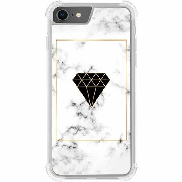 Apple iPhone 8 Tough Case Marble Diamond