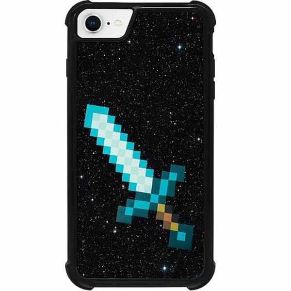 Apple iPhone SE (2020) Tough Case Minecraft Svärd