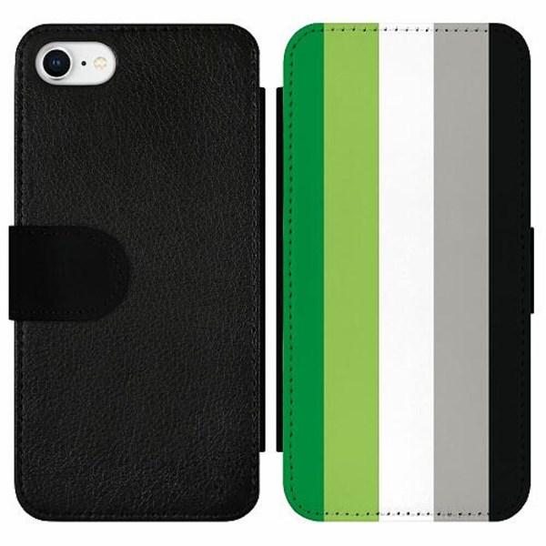 Apple iPhone SE (2020) Wallet Slim Case Pride - Aromantic