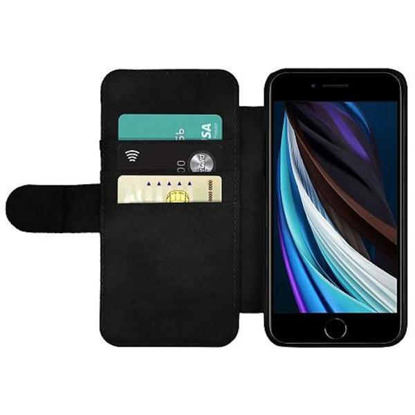 Apple iPhone SE (2020) Wallet Slim Case Döskalle