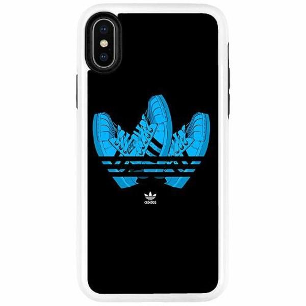 Apple iPhone X / XS Duo Case Vit Adidas