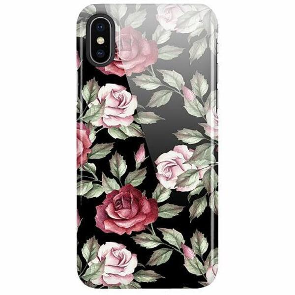 Apple iPhone X / XS LUX Mobilskal (Glansig) Floral Dream