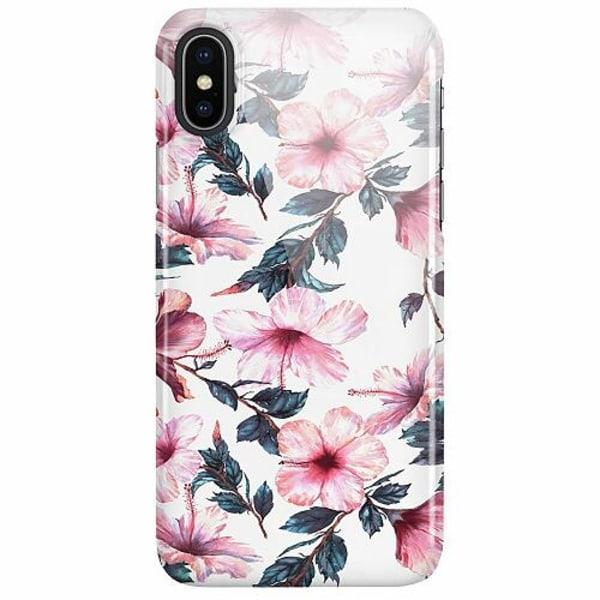 Apple iPhone X / XS LUX Mobilskal (Glansig) Floral Spring