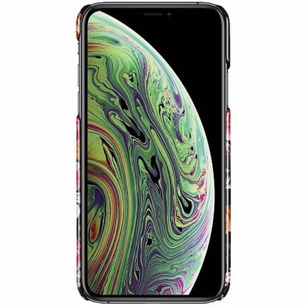Apple iPhone X / XS LUX Mobilskal (Glansig) Flower Splash