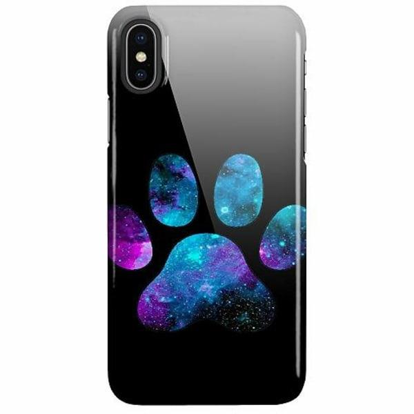 Apple iPhone X / XS LUX Mobilskal (Glansig) Galaxy Paw