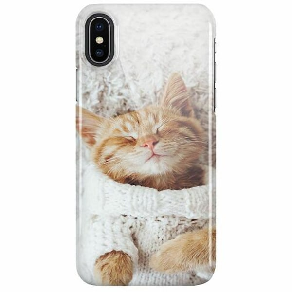 Apple iPhone X / XS LUX Mobilskal (Glansig) Katt