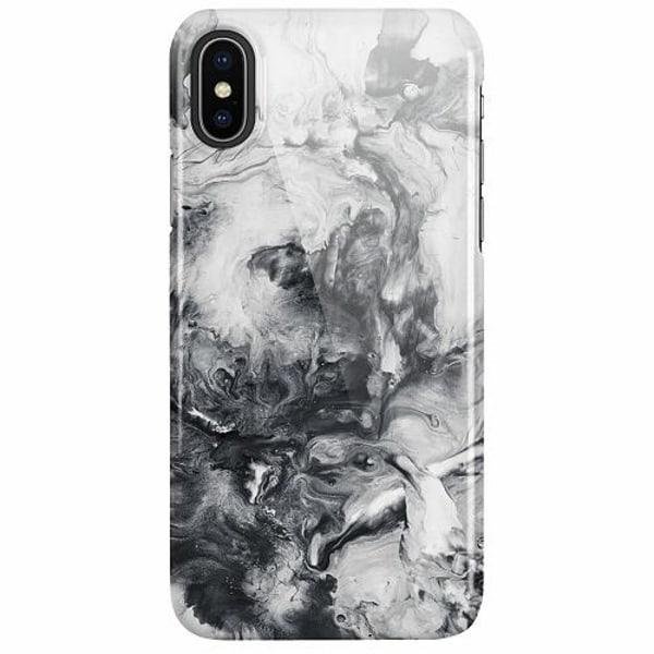 Apple iPhone X / XS LUX Mobilskal (Glansig) Liquid Smoke