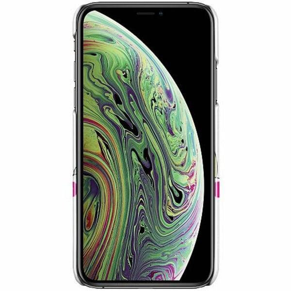 Apple iPhone X / XS LUX Mobilskal (Glansig) Unicorn - Dra Åt @!#