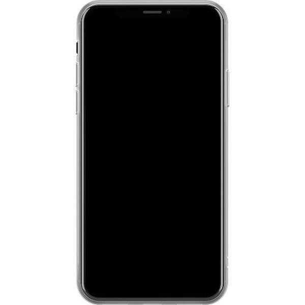 Apple iPhone X / XS Mjukt skal - Dammsugare pixel art