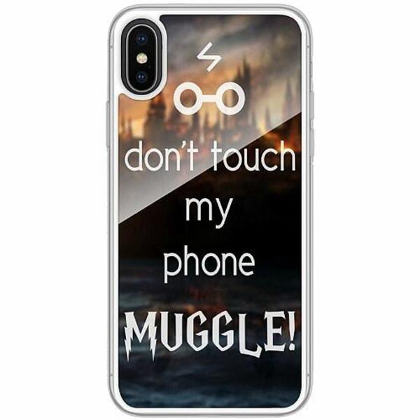 Apple iPhone X / XS Transparent Mobilskal med Glas Harry Potter