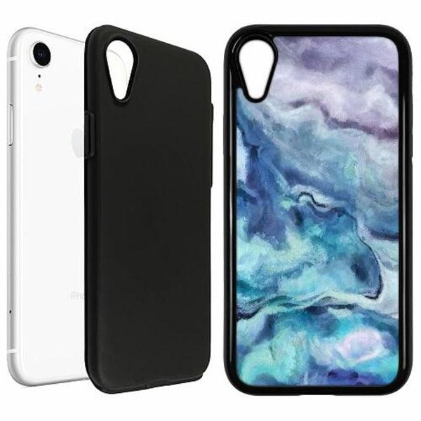 Apple iPhone XR Duo Case Svart Blur