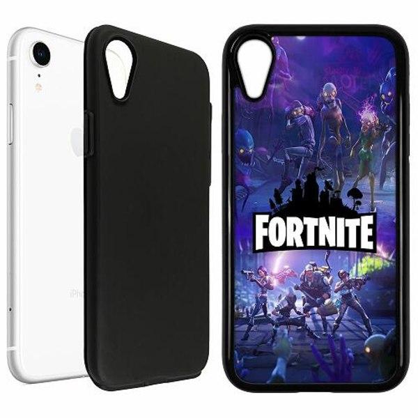 Apple iPhone XR Duo Case Svart Fortnite Gaming