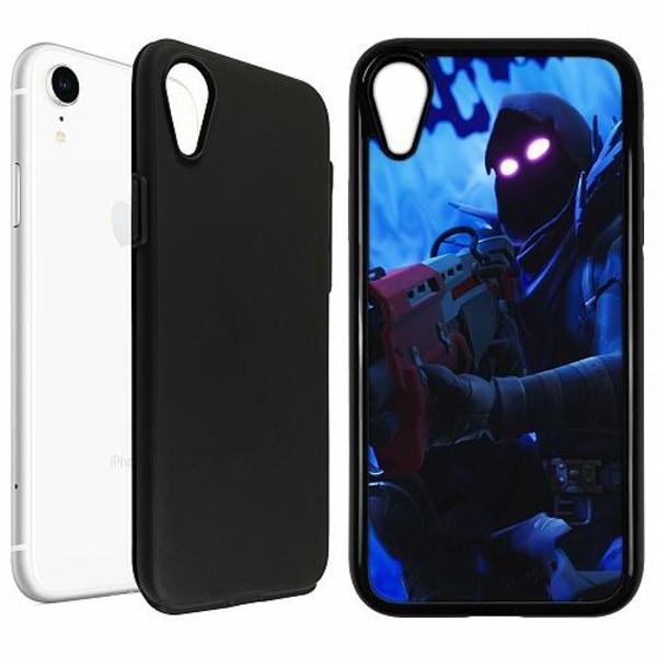 Apple iPhone XR Duo Case Svart Fortnite The Raven