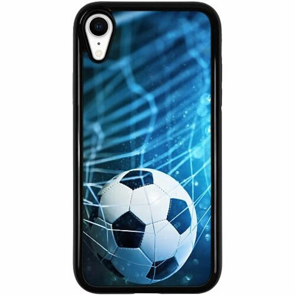 Apple iPhone XR Duo Case Svart Fotboll