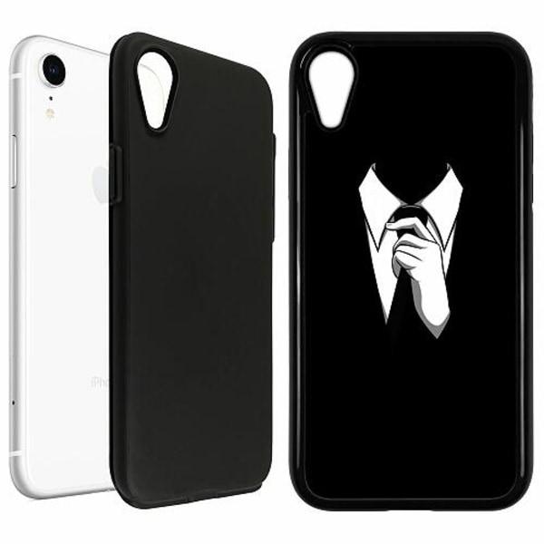 Apple iPhone XR Duo Case Svart Gentleman