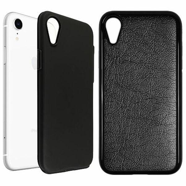 Apple iPhone XR Duo Case Svart Grå
