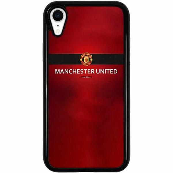 Apple iPhone XR Duo Case Svart Manchester United