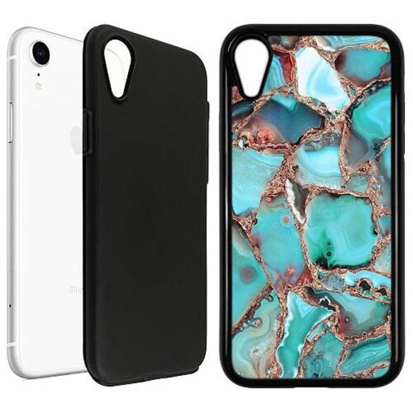 Apple iPhone XR Duo Case Svart Santorini