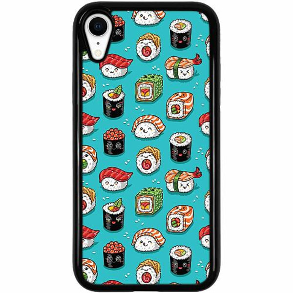 Apple iPhone XR Duo Case Svart Sushi