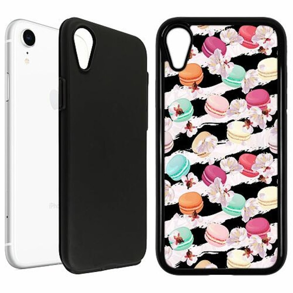 Apple iPhone XR Duo Case Svart U Macaron Me Crazy