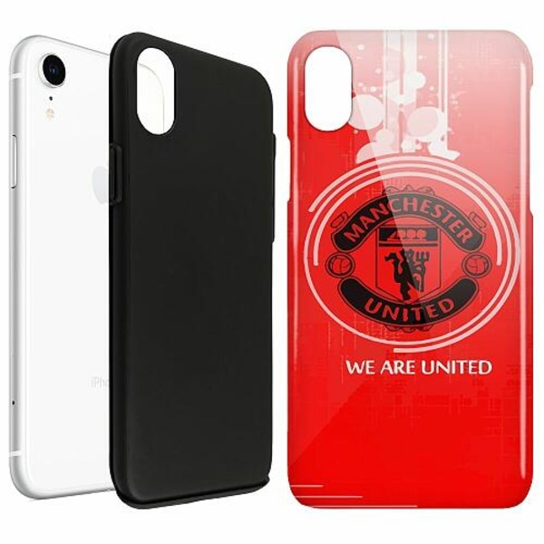 Apple iPhone XR LUX Duo Case (Glansig)  Manchester United FC