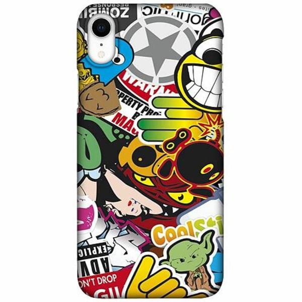 Apple iPhone XR LUX Mobilskal (Matt) Stickers