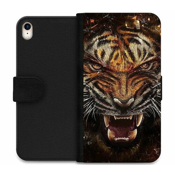 Apple iPhone XR Wallet Case Angry Tiger