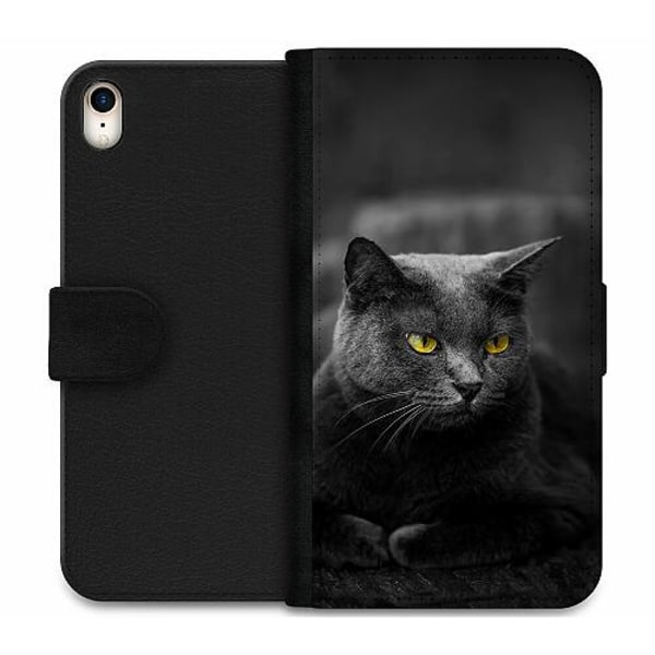 Apple iPhone XR Wallet Case Black Cat