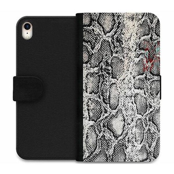Apple iPhone XR Wallet Case Snake on Grey