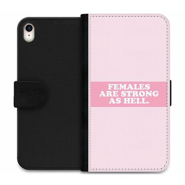 Apple iPhone XR Wallet Case Strong Female